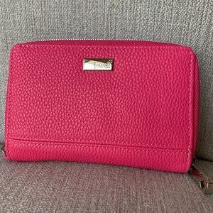 Bright Pink Jewell Wallet